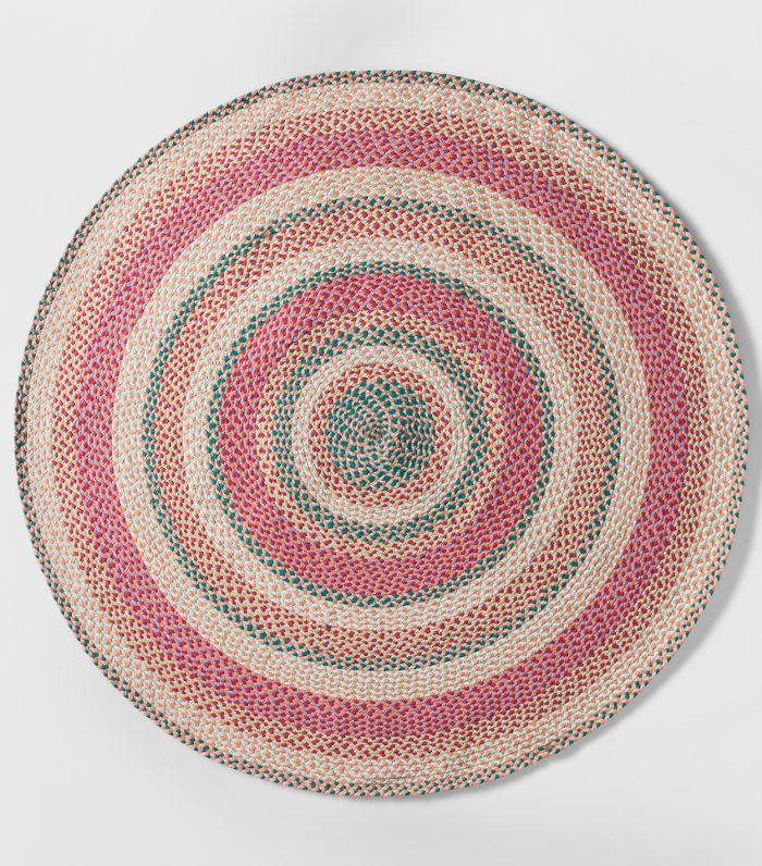 Pillowfort Braided Area Rug