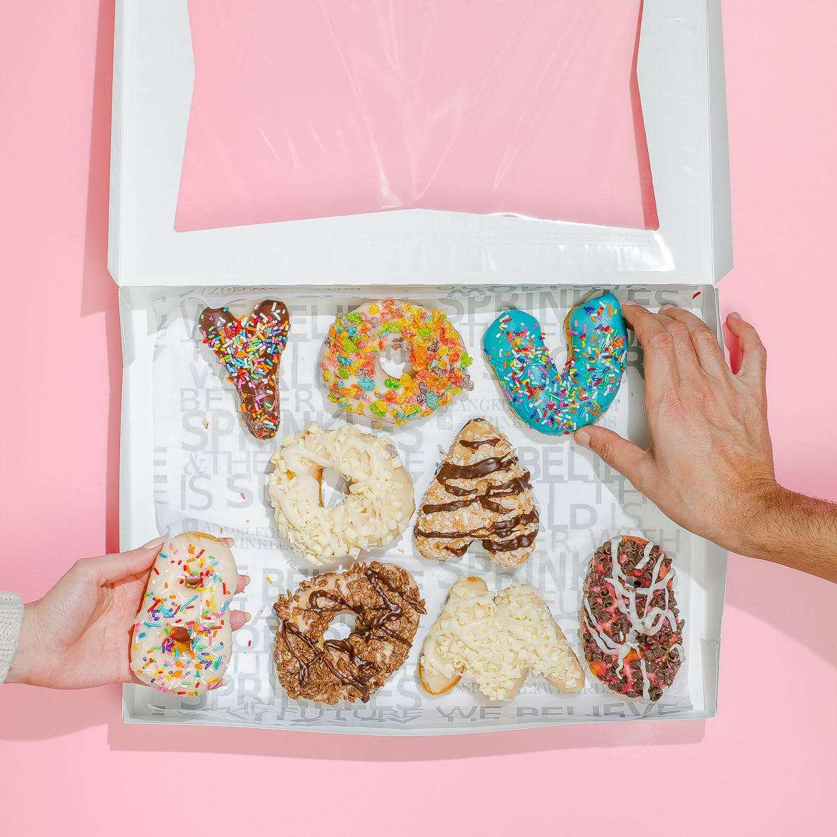Angel Food Bakery You Da Bomb Donuts
