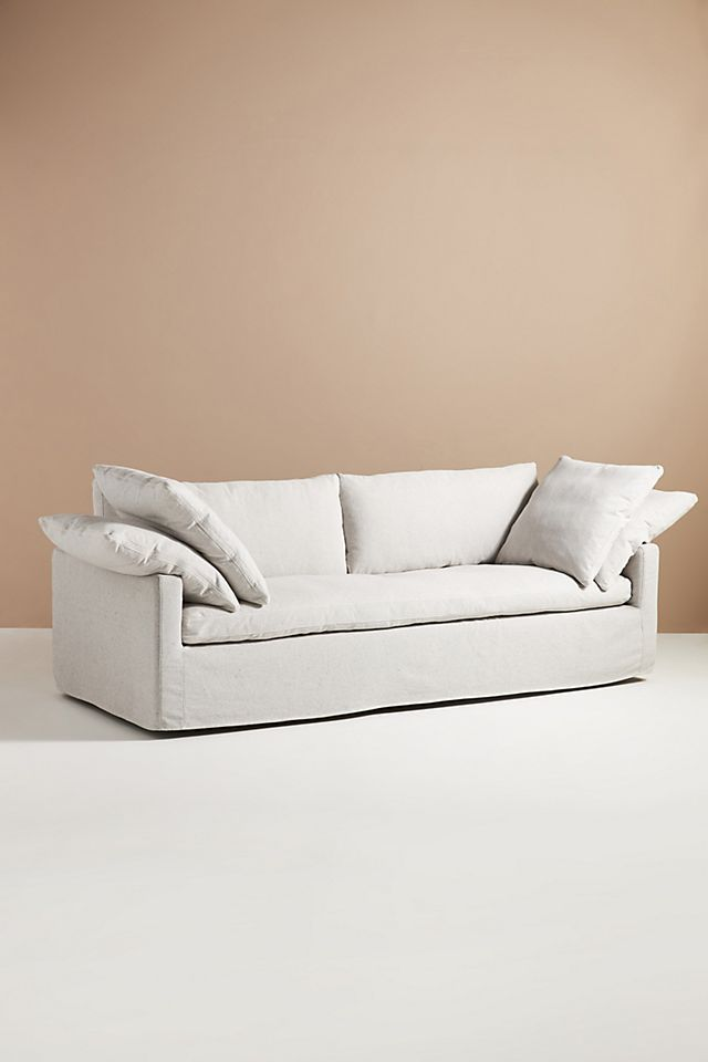 anthropologie cloud couch dupe