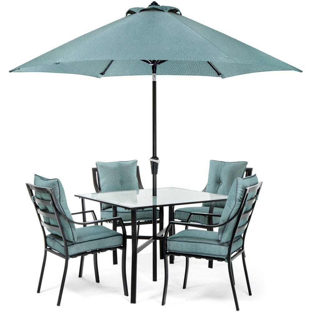 Hanover Lavallette 5-Piece Outdoor Dining Set