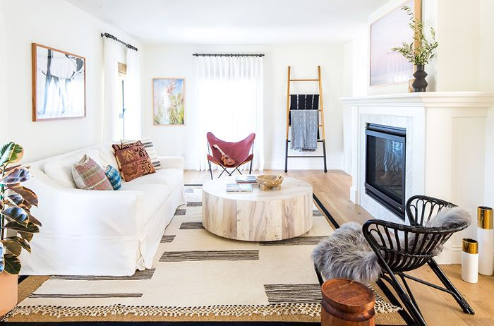 Inside A Chic And Modern Los Angeles Home