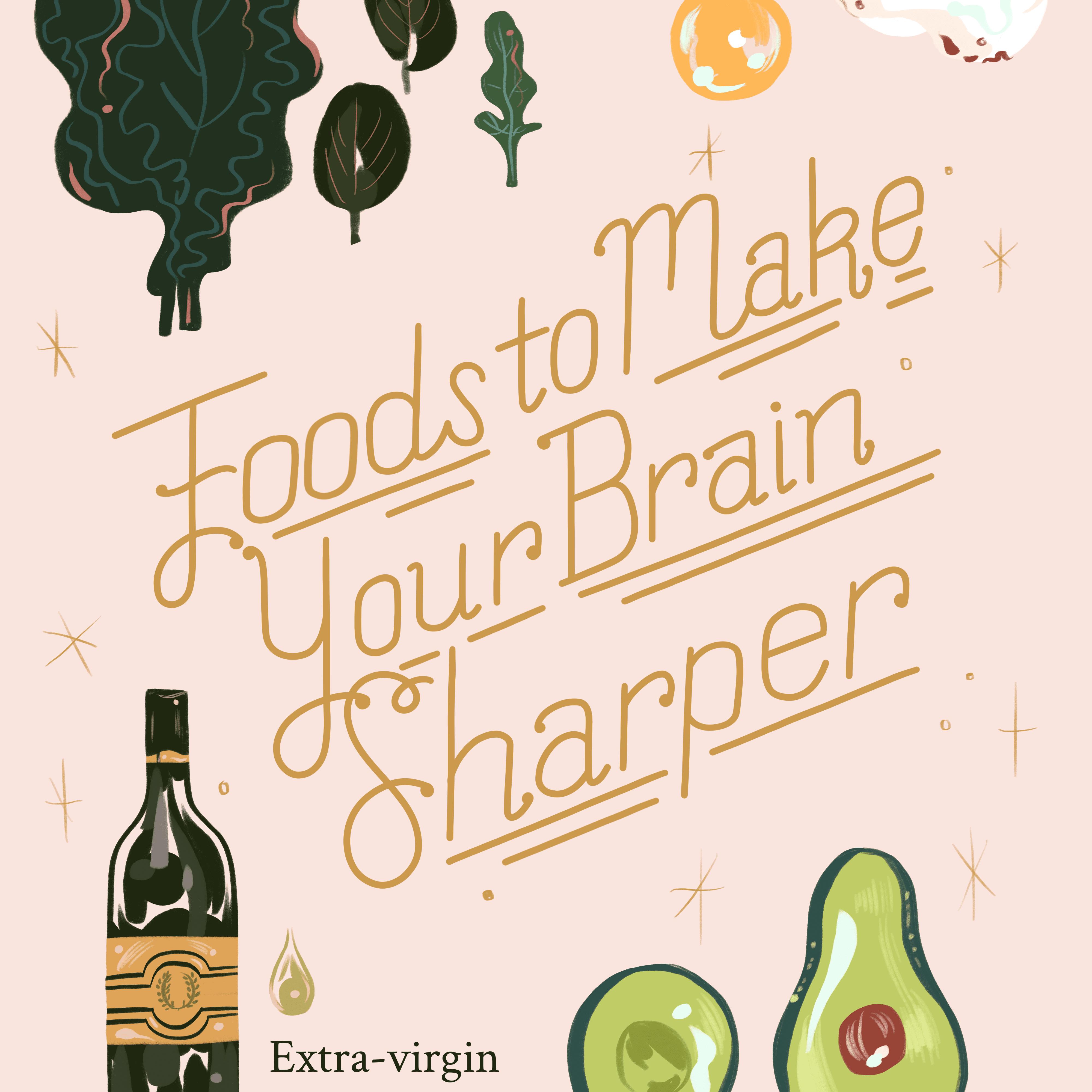 Alimentos para agudizar tu cerebro