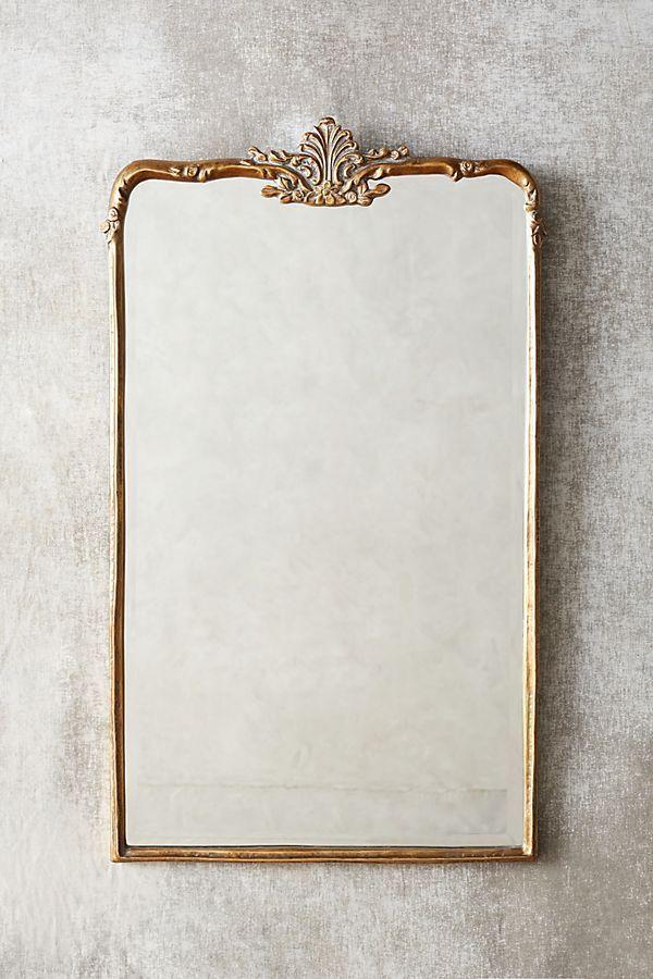 Anthropologie Madeleine Mirror—bathroom color trends