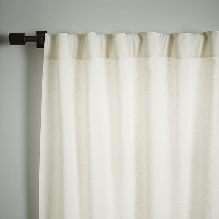 West Elm Linen Cotton Curtain