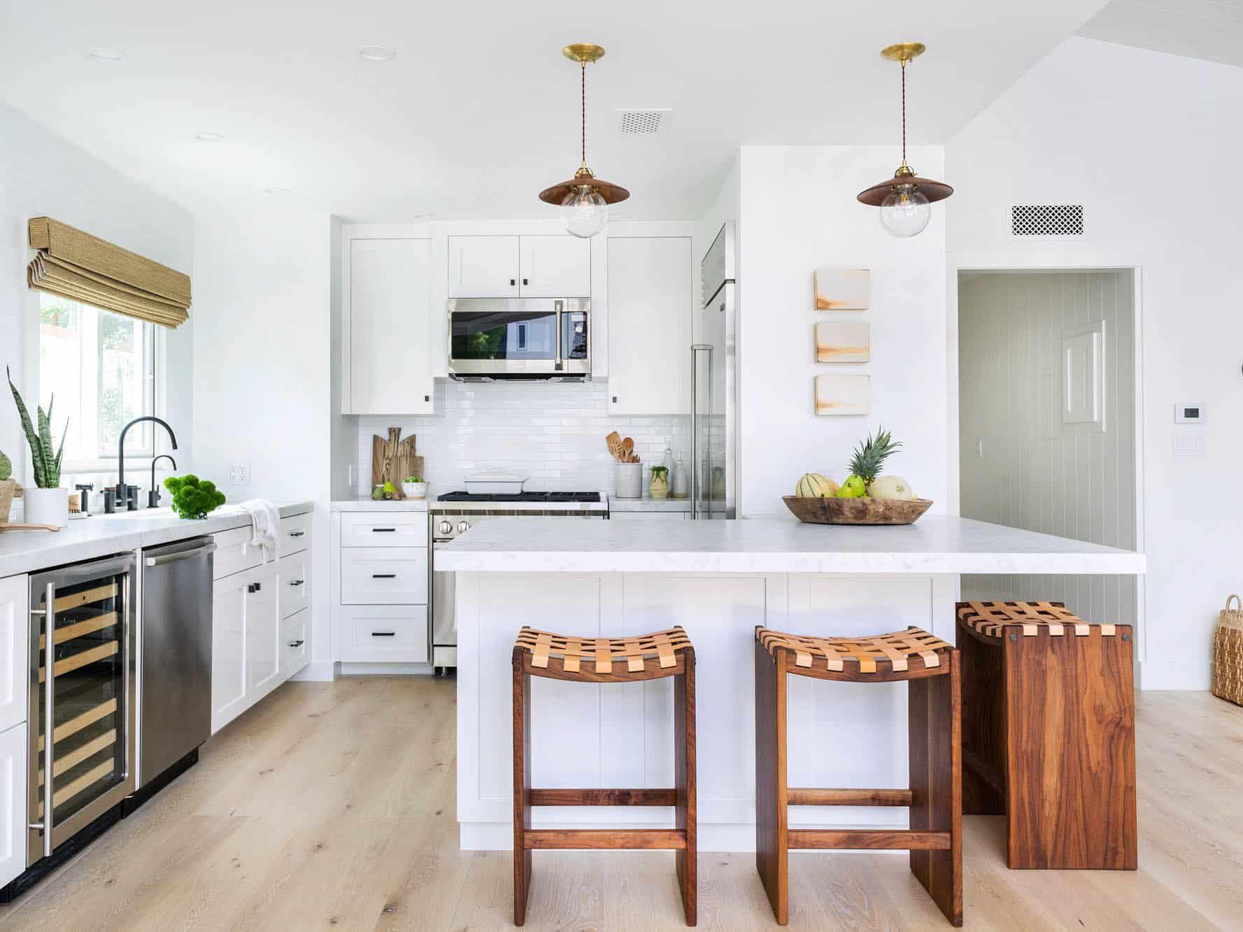 9 Best All White Kitchens