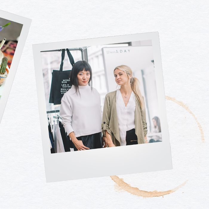 Meg He y Nina Faulhaber, cofundadores de ADAY