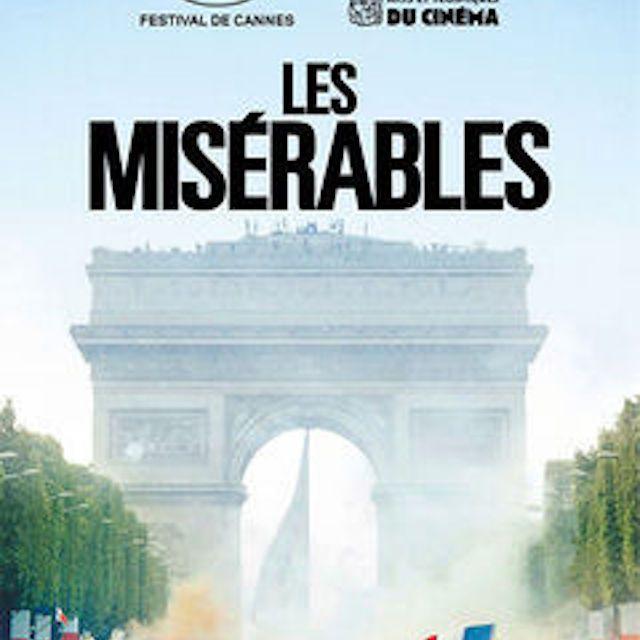 Les Misérables (2019) poster.