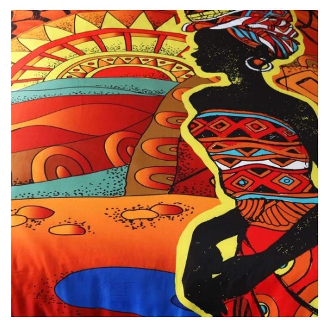 Sleepwish African Woman Duvet Cover Set