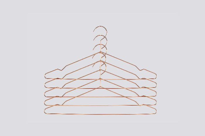 Hay Copper Metal Hangers