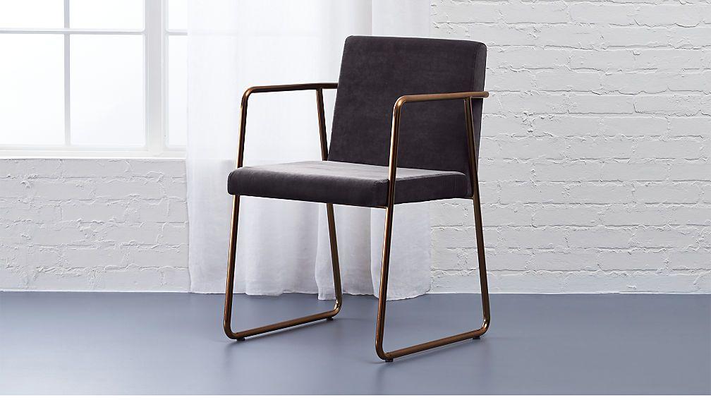 cb2 rouka chair