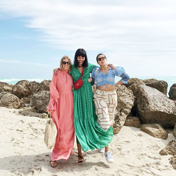 37c19fe25d 8 Beach Outfit Ideas Inspired by Fashion It Girls