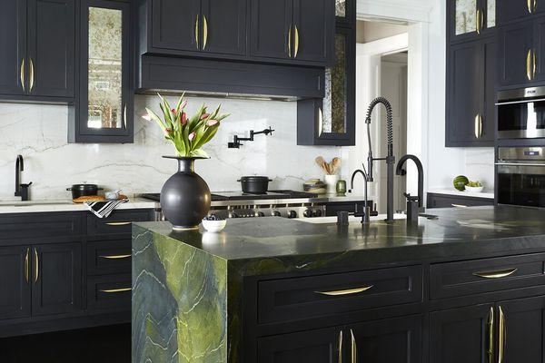 best green marble design ideas
