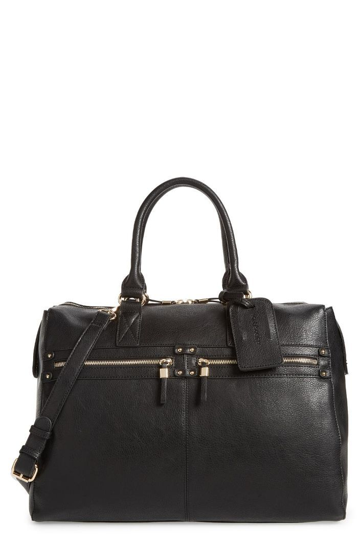Zypa Faux Leather Weekend Bag -