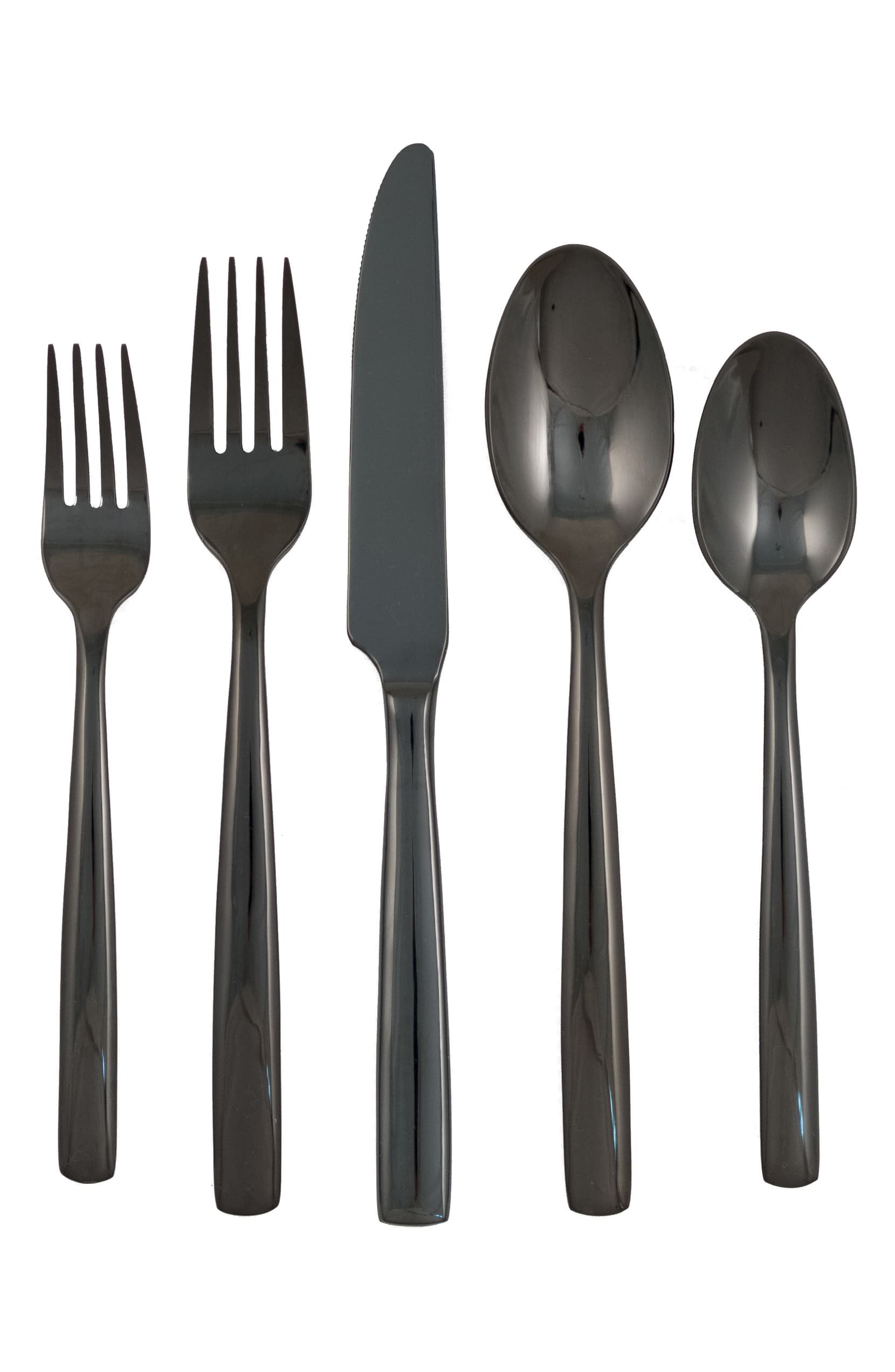 Simple 44-Piece Flatware Set