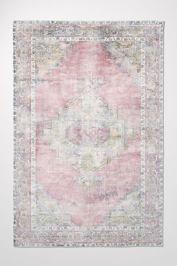 Joanna Gaines for Anthropologie Ruby Rug in Medium Pink