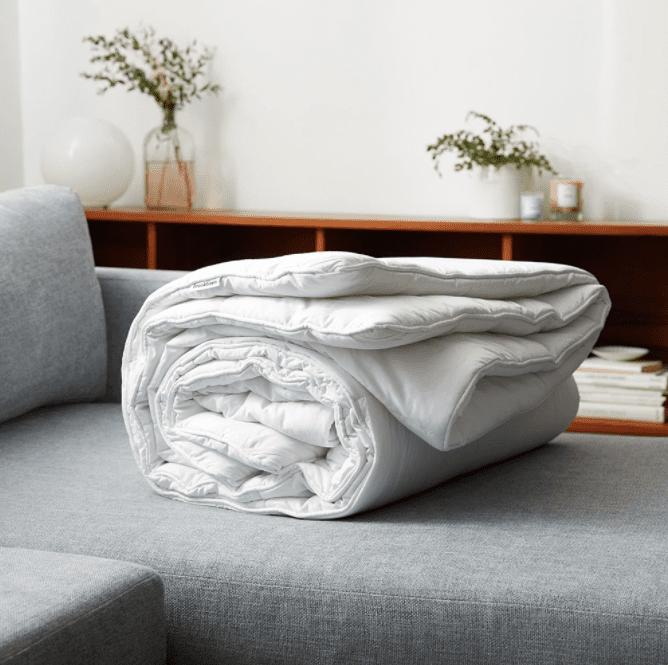 Brooklinen Weighted Comforter
