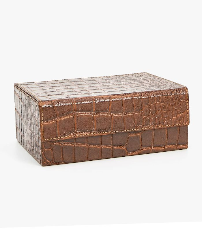 Zara Home Embossed Leather Box