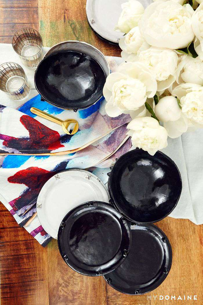 Nina Dobrev L.A. home tour   kitchen table