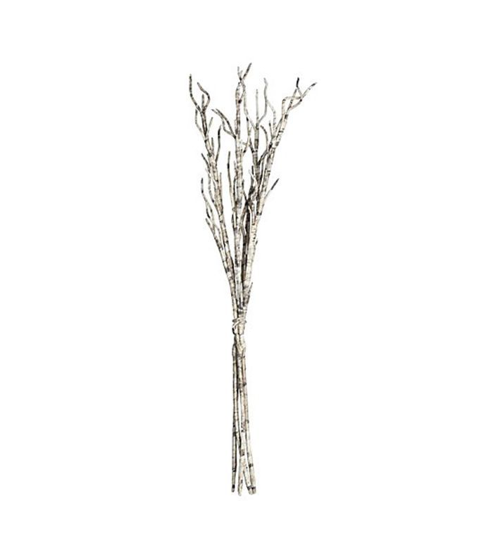 Set of 4 Paper Twig Branches - Crate and Barrel