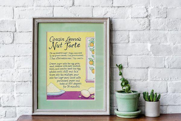 Custom Illustrated Recipes