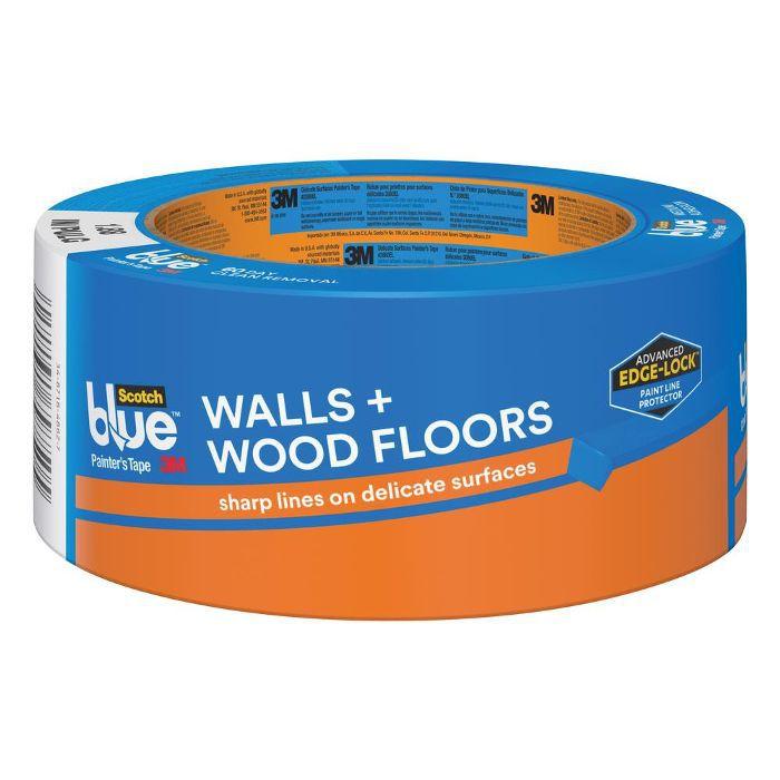 Cinta de pintor para paredes y pisos de madera de 3M: diseños de paredes de galería