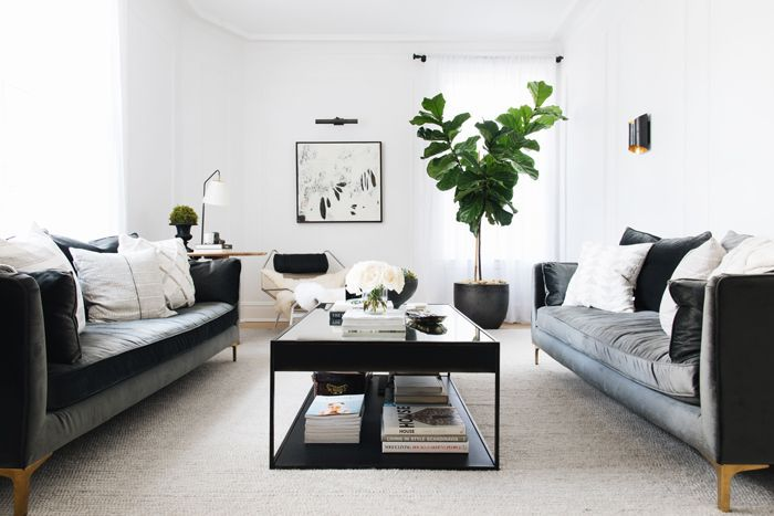 small living room—The Everygirl Home Tour
