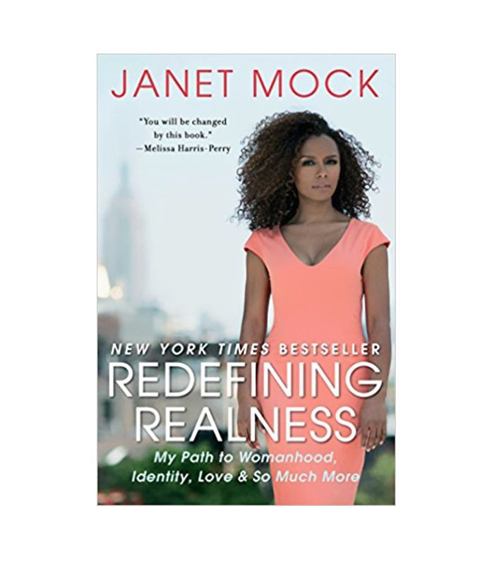 the cover of Janet Mock's book Redefining Realness
