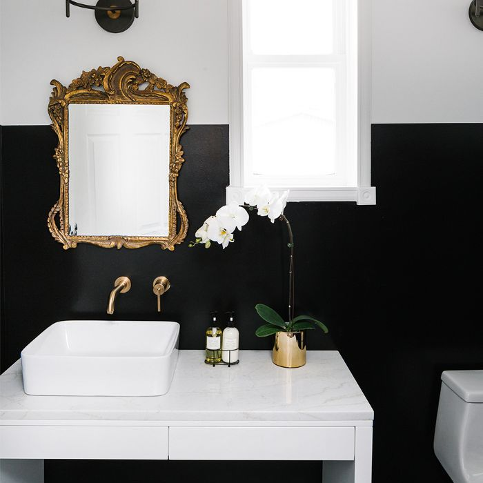 Townhouse Décor Ideas — Powder Room