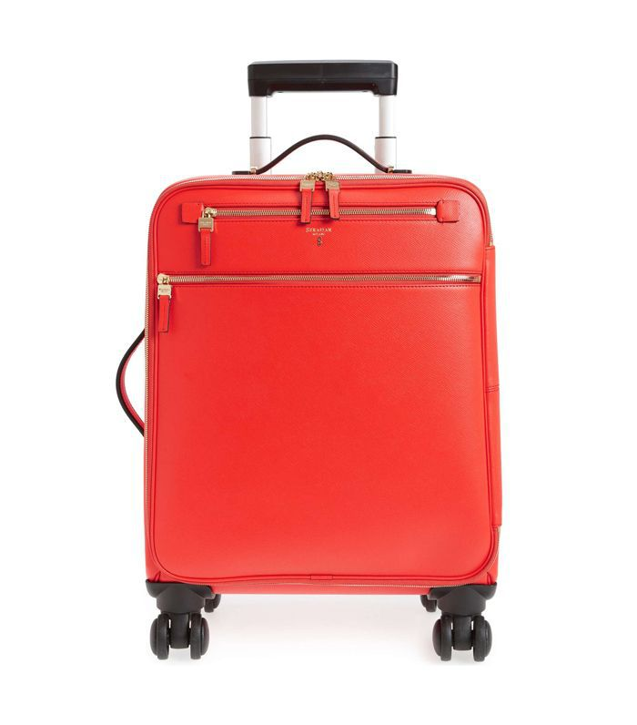 Serapian Milano Trolley Spinner Wheeled Carry-On Suitcase -