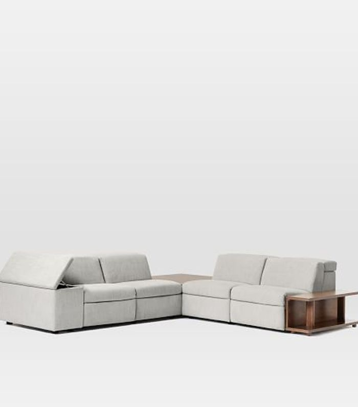 West Elm Enzo Reclining 4 Seater Sectional