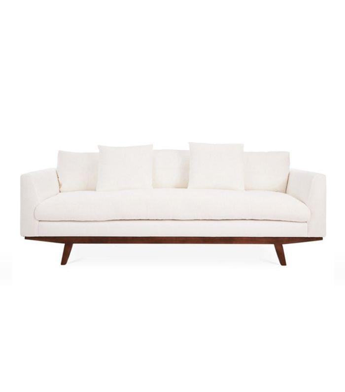 One Kings Lane Carmel Linen Sofa