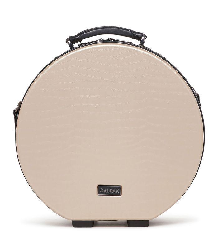 Calpak Baye Small Hardcase Hat Box - Grey