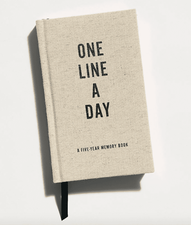Chronicle Books One Line a Day Journal