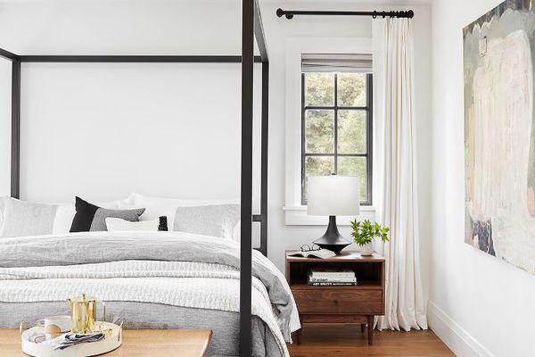 Master bedroom design—Emily Henderson