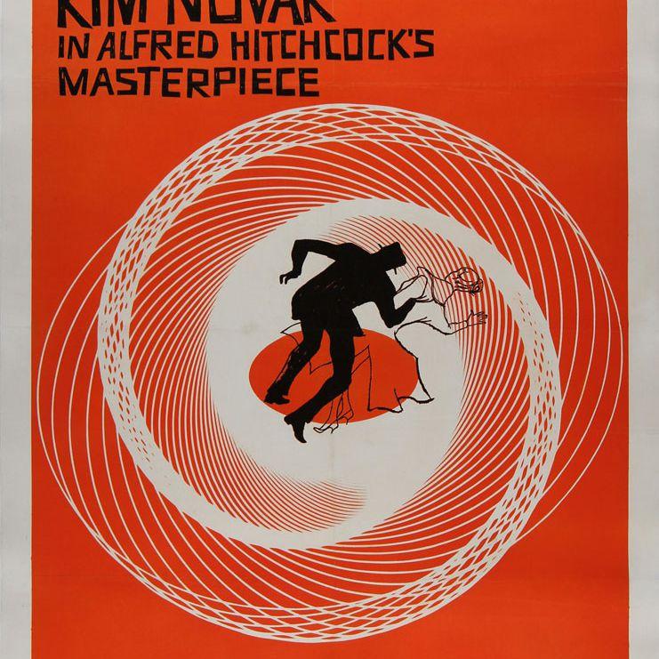 Vertigo movie poster.