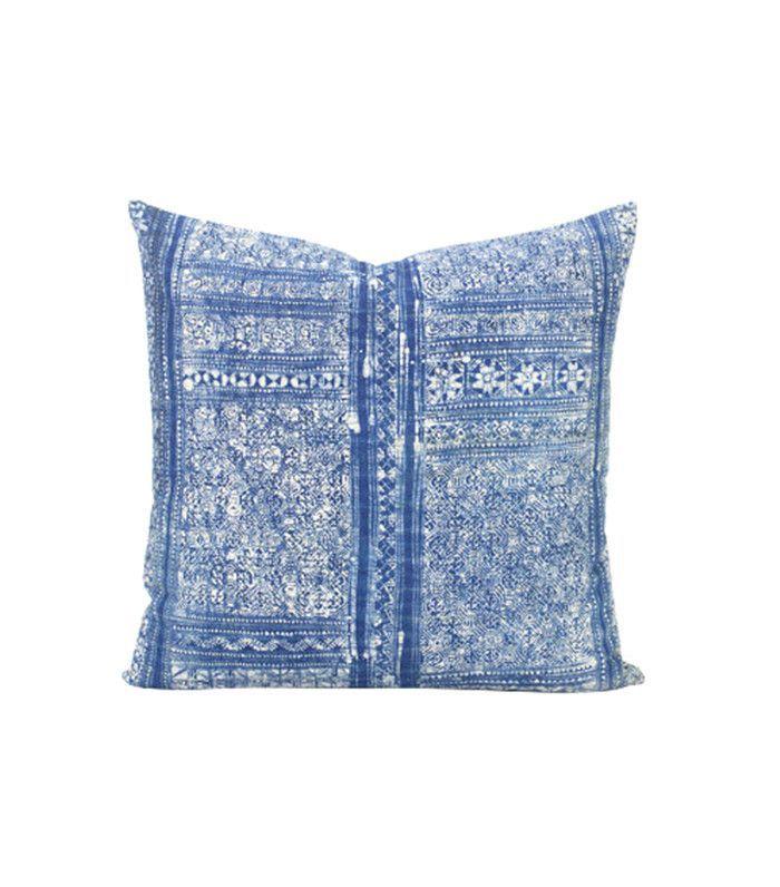 Lanna Passa Vintage Hill Tribe Indigo Pillow