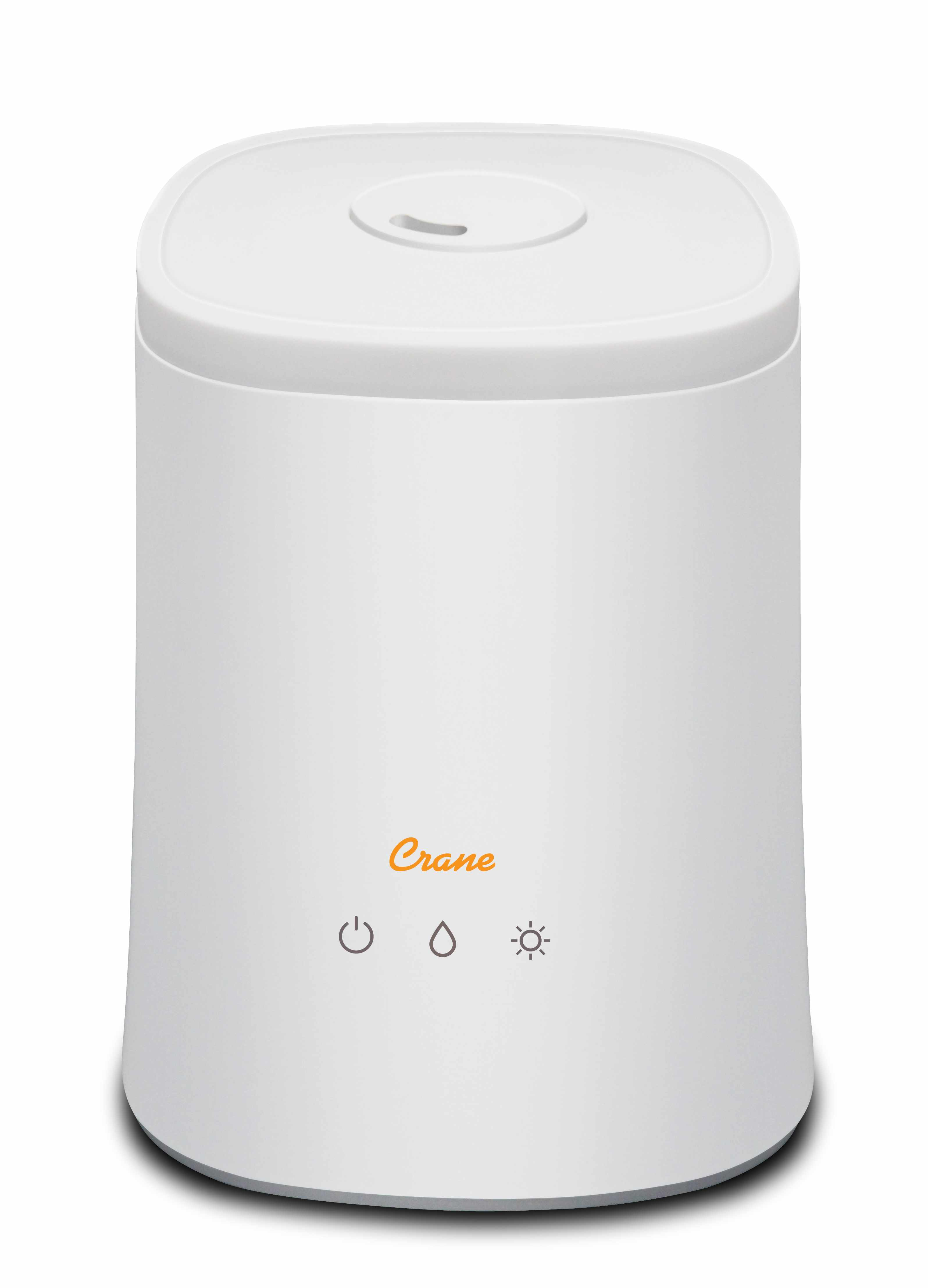 Crane Cool Mist Top Fill Humidifier and Aroma Diffuser