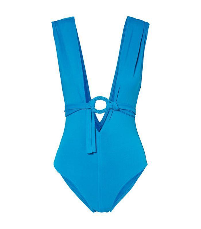 Studio Spray Belted Swimsuit