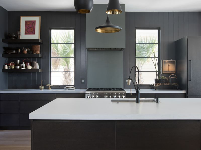 20 Sophisticated All Black Kitchen Ideas