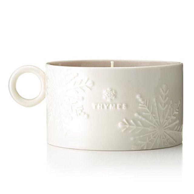 Hot Cocoa Mug Candle