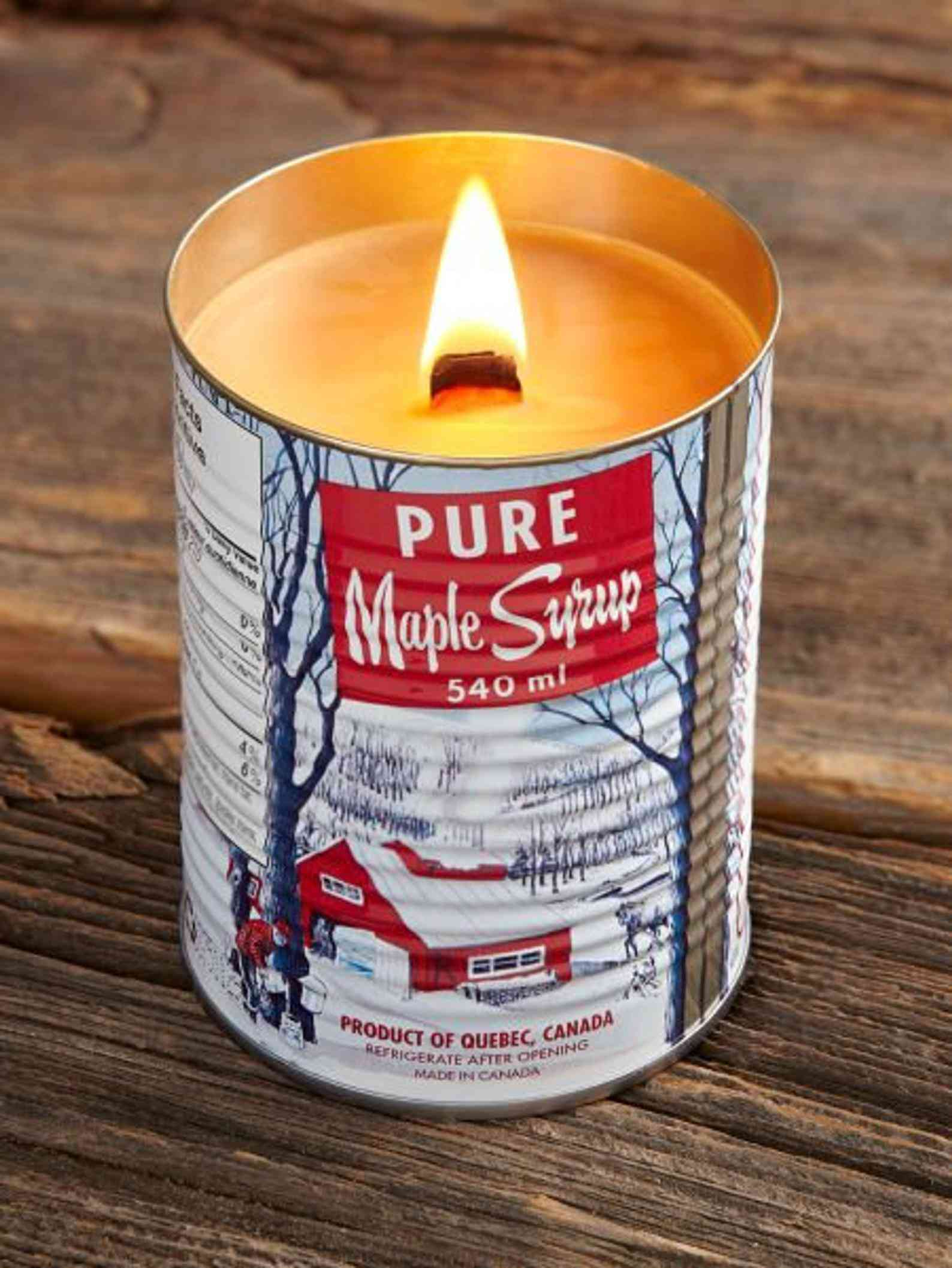 Pure Maple Syrup Scented Candle