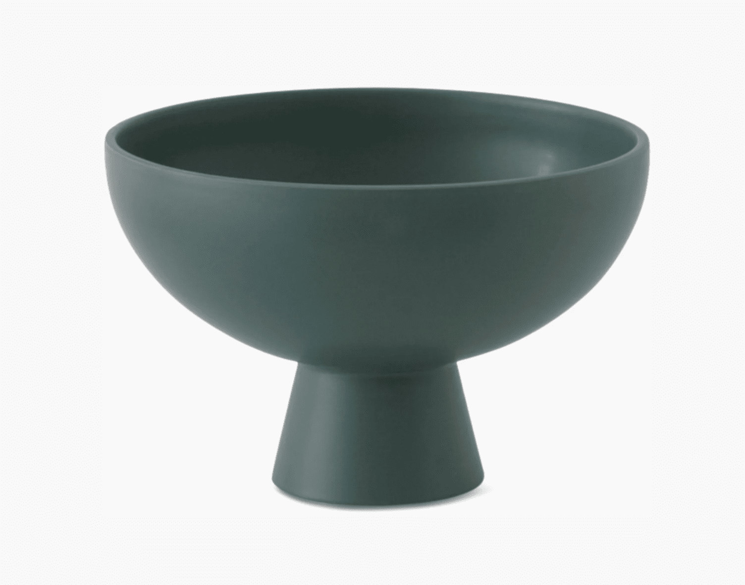 A large green vase, currently for sale at Design Within Reach