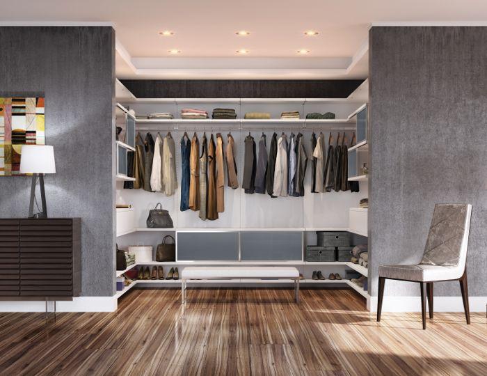 California Closets—Minimalist Closets