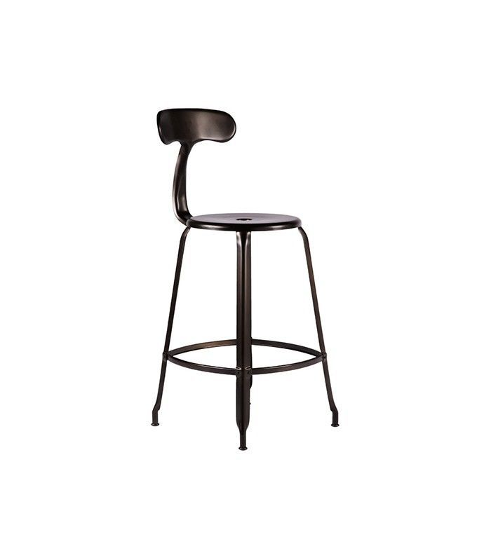 Rejuvenation Nicolle Counter Stool With Back