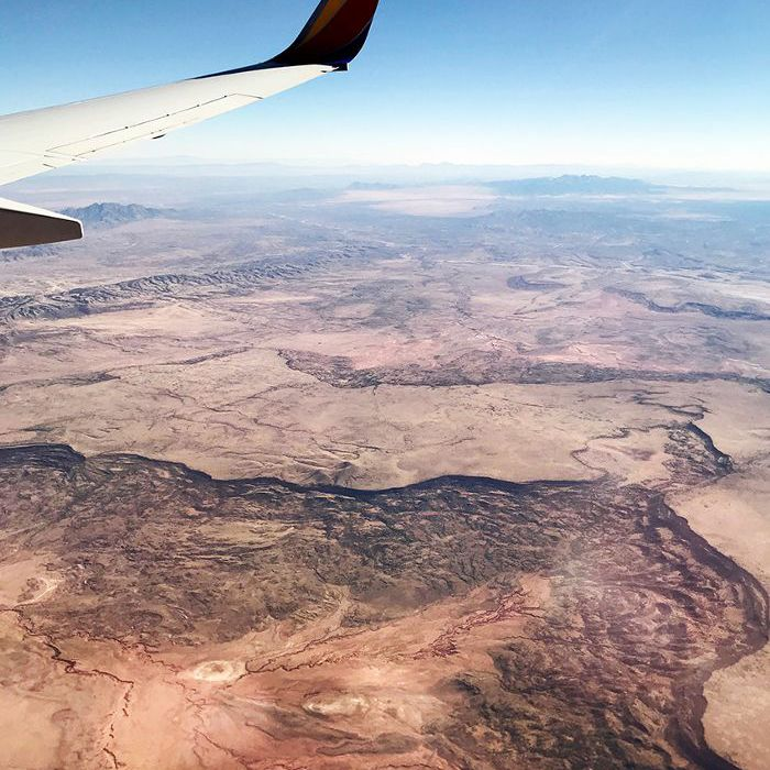 view of New Mexico from above