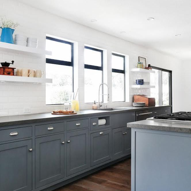 Wood Cabinet Colors Kitchen: These Are The 8 Best Kitchen Cabinet Paint Colors
