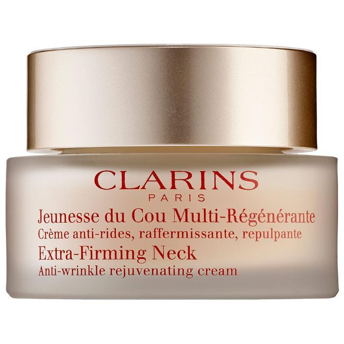 Clarins Extra-Firming Neck Anti-Wrinkle Rejuvenating Cream Tretinoin for Wrinkles