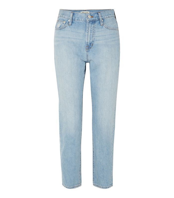The Perfect Summer Cropped High-rise Straight-leg Jeans