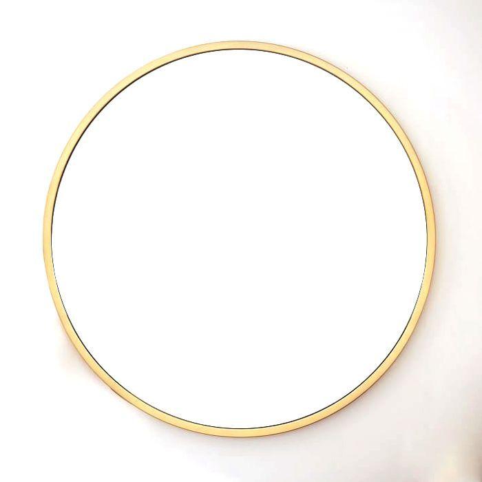 West Elm Oversized Round Mirror