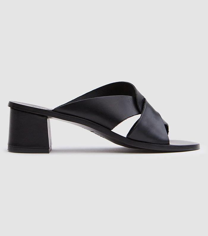 Adria Heel in Black